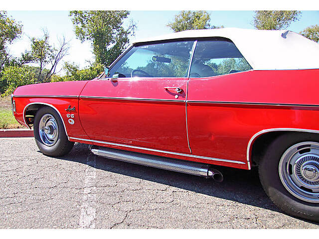 Convertible 1969 Chevrolet Impala Super Sport