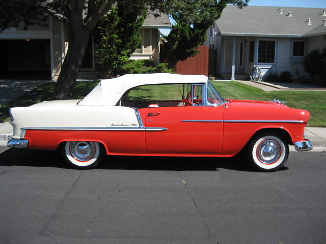 1955 Chevy Bel Air Convertible Recent Resto Immaculate