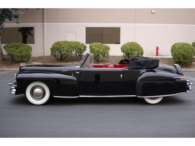 1946 Lincoln Continental Cabriolet V12 Fully Restored