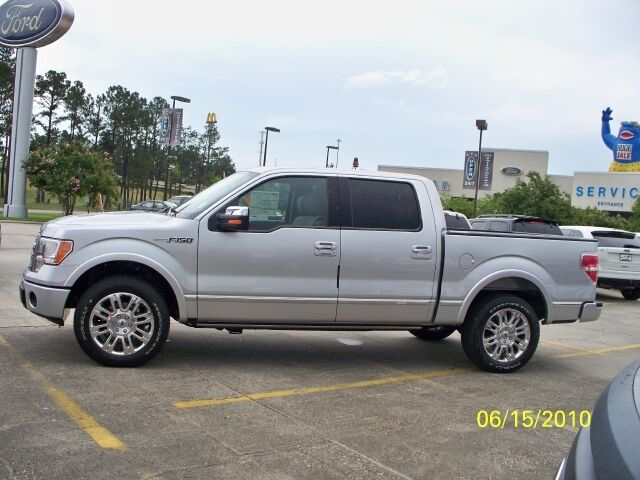 2010 F150 CREW CAB PLATINUM EDITION New 5.4L