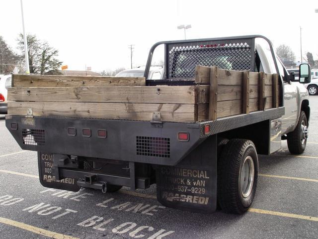 07 CHEVY 3500 4WD DIESEL DRW FLATBED - FREE SHIP/AIR