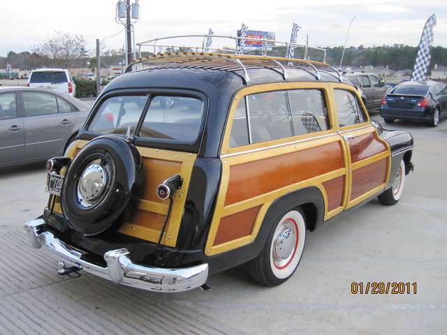 "1949 MERCURY ""WOODIE WAGON"" RESTORED ""WE FINANCE"""