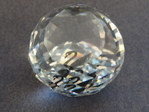 What are some unique crystal paperweights?