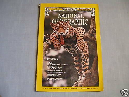 NATIONAL GEOGRAPHIC November 1977 BRAZIL Kauai Hawaii INUIT ESKIMO Yugoslavia