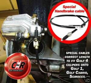 Handbrake-cables-Golf-1-Scirocco-fit-to-Golf-4-caliper