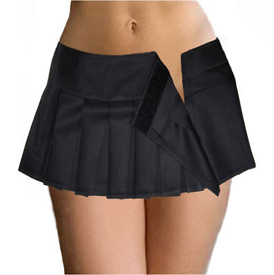 Black Micro Mini Skirt 101