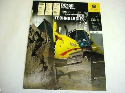 New Holland Dc150 Crawler Dozer Brochure