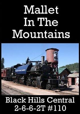 Railroad Dvd: Black Hills Central 2-6-6-2t 110