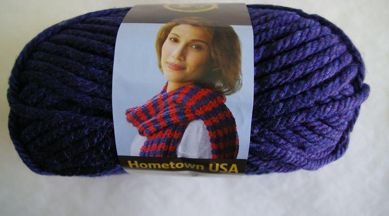 Lion Brand Hometown Usa Yarn 1 Skein Select Color
