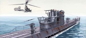 u boot u 875 type ix d2 wwii german submarine w fa 330 helicopter 1