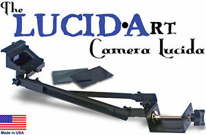 LUCID-Art-Camera-Lucida-drawing-painting-projector-art-artograph-Gift-for-Artist
