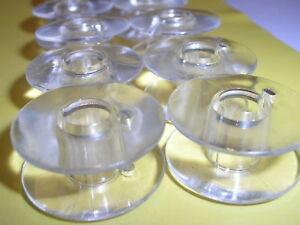 10-SINGER-SEWING-MACHINE-PLASTIC-DROP-IN-BOBBINS-FOR-OLDER-SINGER-MODELS