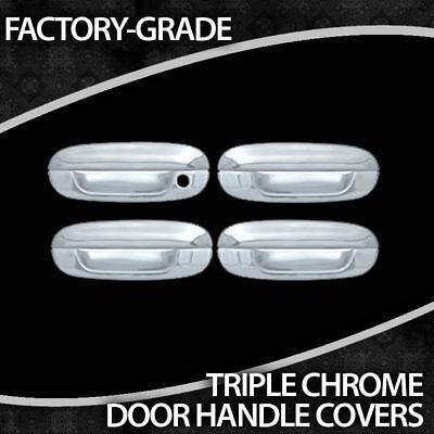 2002-2009 Gmc Envoy 4 Door Triple Chrome Handles on Sale