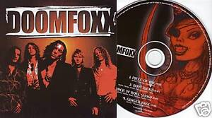 DOOMFOXX-S-TITLED-4-Track-CD-Single-EP-NEW-SEALED