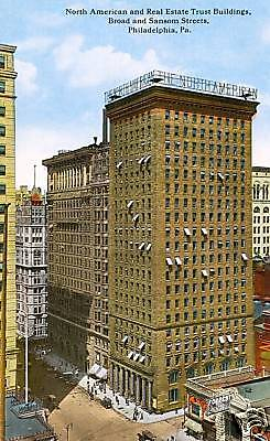 Philadelphia Pa North American   Real Estate Trust Blgd