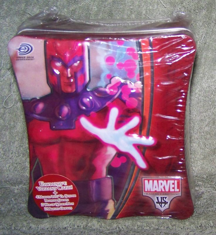 Marvel Vs System Trading Card Game Magneto Tin