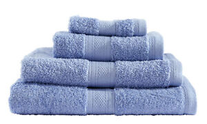 8-pcs-100-Cotton-Towel-Bale-Set-Blue-Hand-Bath-Sheet