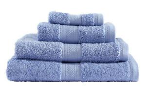 8-pcs-100-Cotton-Towel-Bale-Set-Blue-Hand-Bath-Sheet