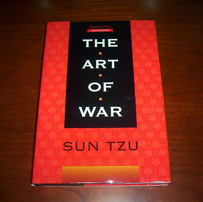Sun Tzu The Art Of War Warfare Strategy Classic Chinese Wars China History Book