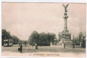 CPA-DUNKERQUE-STATUE-DE-LA-VICTOIRE