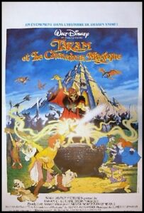Taram et le chaudron magique affiche cin ma french movie poster disney ebay for Poster et affiche