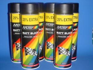 Schwarz matt spraydose lackieren