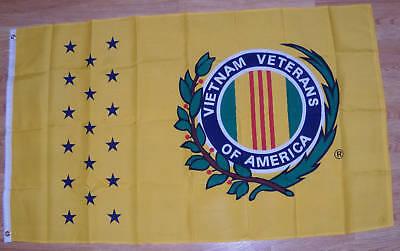 Nip Brand Vietnamese / Viet-nam / Vietnam Veterans Of America Flag 3' X 5'