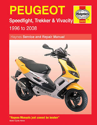 Haynes Manual 3920 - Peugeot Speedfight/Trekker/Vivacity - workshop & service