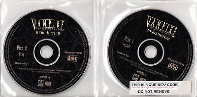 Vampire The Masquerade Redemption (pc Cd + Key) New, Disks Only, Free Us Shippi