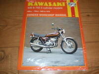 Manuale Officina Per Kawasaki 500 H1 Kh 750 H2 Mach Iii Kh 500 Kh 750 -  - ebay.it