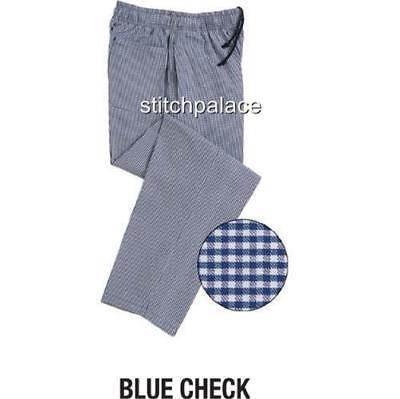 Denny Unisex Chef Trouser Xs S M L Xl 1x Woven Colours