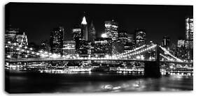 X LARGE CANVAS PICTURE SKYLINE NEW YORK CITY framed 42