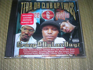 Tear Da Club Up Thugs - Crazyndalazdayz 2 CD set OOP Three 6 Mafia