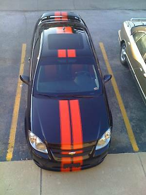 racing rally stripe kit for chevrolet chevy cobalt ss ebay. Black Bedroom Furniture Sets. Home Design Ideas