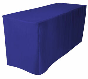 6-039-Fitted-Polyester-Tablecloth-Table-Cover-ROYAL-BLUE