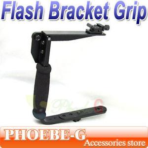 Camera-Flash-Bracket-Grip-Camera-Flash-Arm-Holder-stand