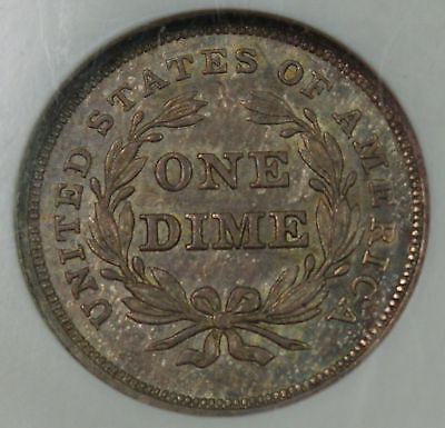 Click now to see the BUY IT NOW Price! 1840 SEATED LIBERTY DIME, NGC MS-63 NO DRAPERY