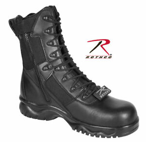 Forced-Entry-8-side-zipper-composite-toe-tactical-boot