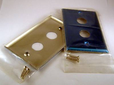 Aim27-9089 Dual Wall Plate, Stainless (lot Of 5)
