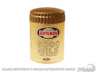 Rotunda Gold 6000 Mile Oil Filter 1964-1970 Mustang