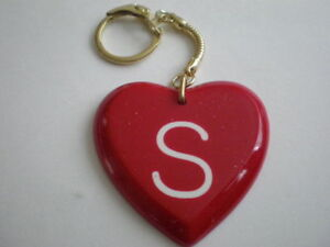 K Letter With Heart Images ... Personalised Gift Resin Love Heart Alphabet Initial Keyring Letter S