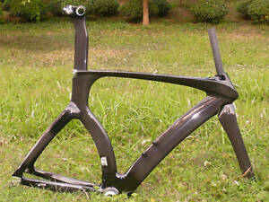 3k-Carbon-Triathlon-Time-Trial-TT-Bike-Frame-Fork-56cm