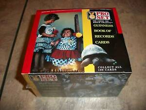 1992-PRO-SET-GUINNESS-BOOK-OF-RECORDS-CARDS-NEW