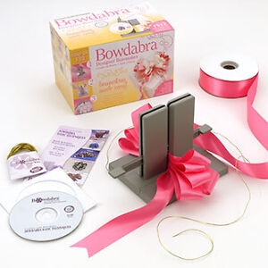 BOWDABRA-Bow-Maker-Kit-Craft-Tool-with-DVD-Book-ORIGINAL