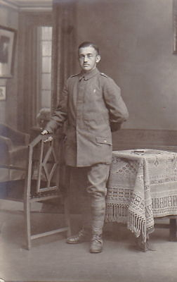 1917 Dated PHOTOGRAPH of WW1 GERMAN ARMY SOLDIER