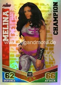 Slam Attax Mayhem #015 Melina Champion