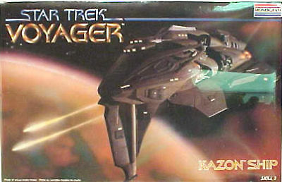 Star Trek Voyager Kazon Ship Model Kit Sealed