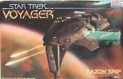 Star Trek Voyager Kazon Ship Model Kit Sealed