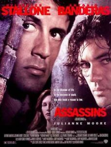 ASSASSINS-2-sided-orig-movie-poster-STALLONE-BANDERAS