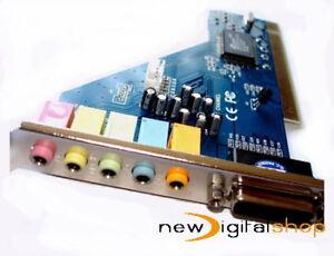 5-1-Surround-Sound-PC-Card-CMI8738-Game-Midi-Port-UK